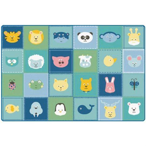 Patchwork Animals - animal patchwork rug 6 x 9