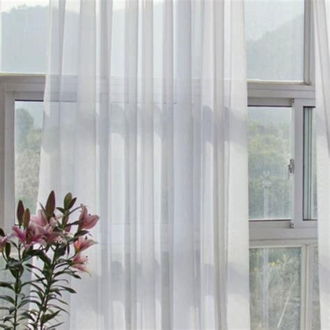 weisser vorhang wong duennschnitt fenster dekoration perforierter