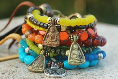 wicked faerie queen: my love of layered hippie bracelets!