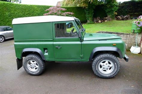 land rover green f41pdl coniston green land rover 90 funrover land