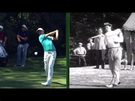 jonas blixt swing peter kostis compares jonas blixt s and sam snead s golf