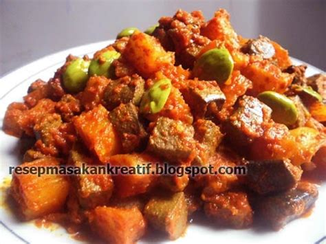 cara membuat kentang goreng mozarella resep sambal goreng ati sapi enak aneka resep masakan