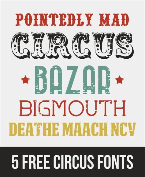 printable circus fonts vintage circus font www imgkid com the image kid has it
