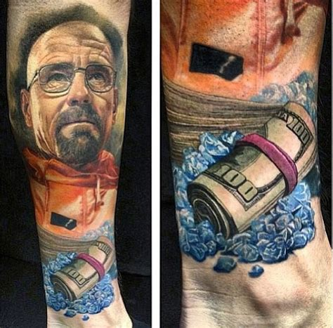breaking bad tattoo 25 epic breaking bad designs let s cook
