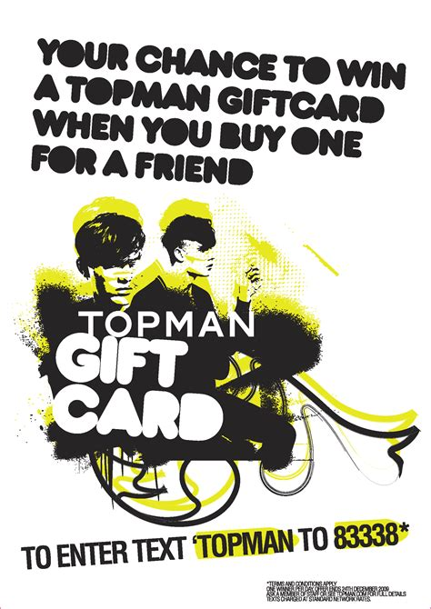 Top Man Gift Card - topman celebrate shop west end vip day with gift card give away