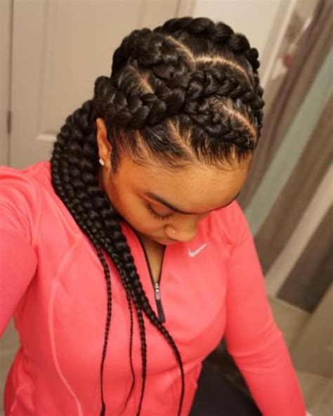 big cornrow hairstyles for black women with bangs 58 beautiful cornrows hairstyles for women