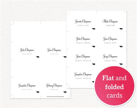 food place cards template free place card template place cards with food icon place