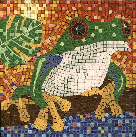 mosaic pattern kits 73 best mosaic frogs images on pinterest mosaic animals