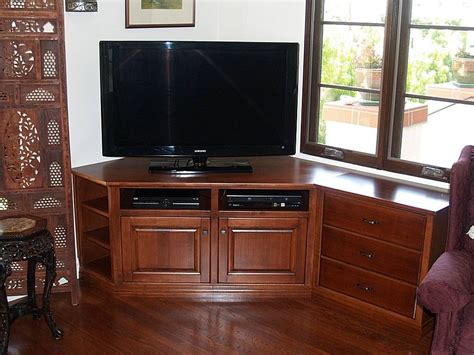 Tv Cabinets With Doors For Flat Screens 15 Best Ideas Of Corner Tv Cabinets For Flat Screens With Doors