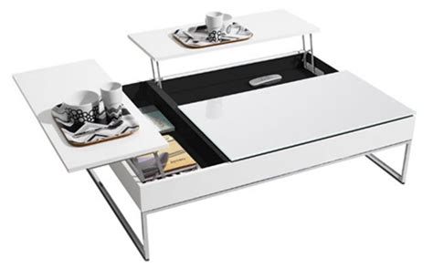 contemporary and functional coffee table with storage