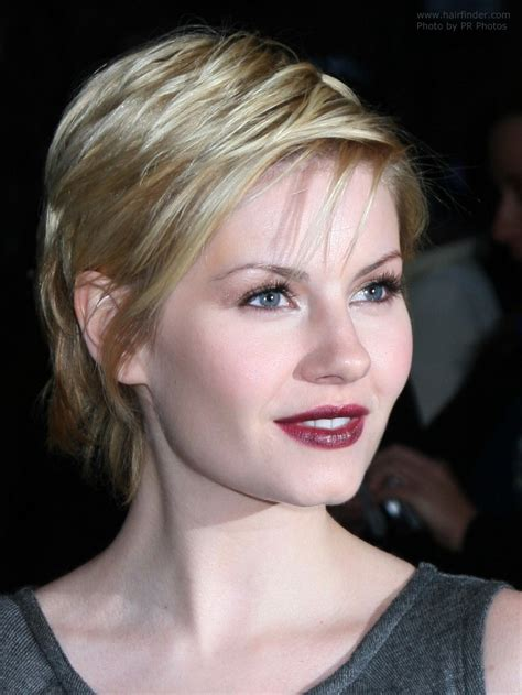 Elisha Cuthbert Chops Locks It Or It by The Only Sure Way To Deal With Split Ends And A Shocking