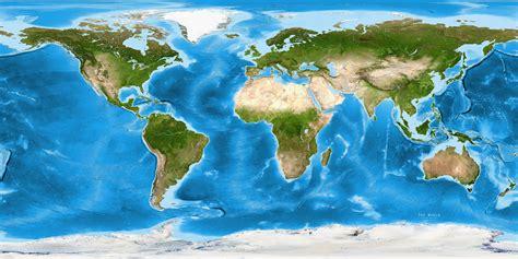 map of the world satellite world satellite image giclee print enhanced physical