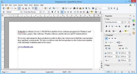 Open Office Review by Portable Openoffice Org