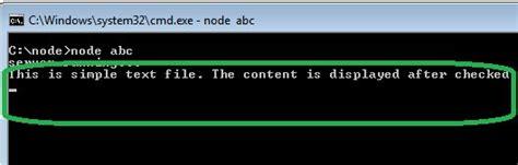 node js fs tutorial node js in action read simple text file using fs module
