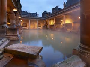 Small Water Fountain great bath the roman baths