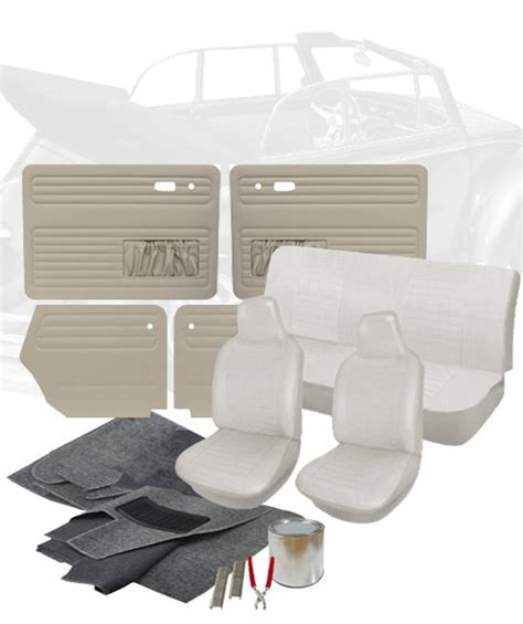 vw upholstery kits 1974 vw super beetle convertible interior kits jbugs