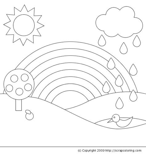 R Is For Rainbow Coloring Page by R Is For Rainbow Coloring Page Coloring Book