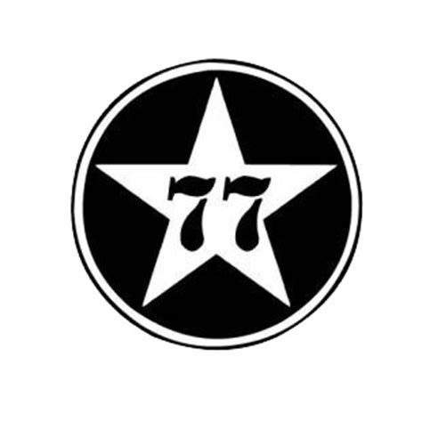 Sign Black Crooz 77 logo logos decals decal sticker 161