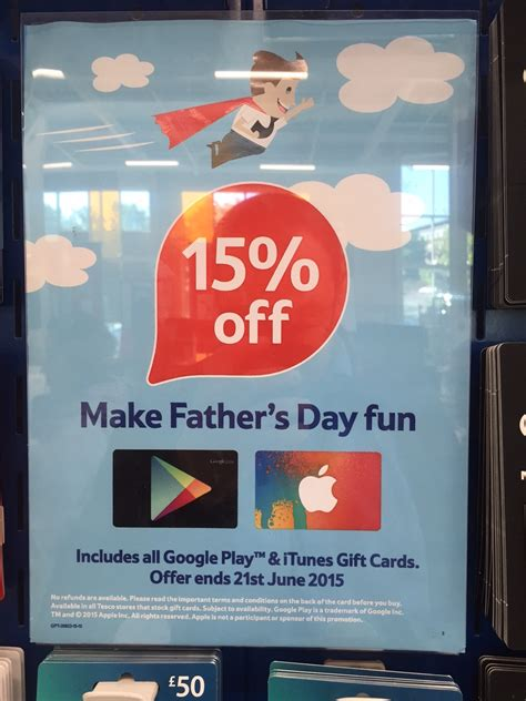 Tesco Itunes Gift Card Offers - 15 off itunes and google play cards at tesco economy class beyond