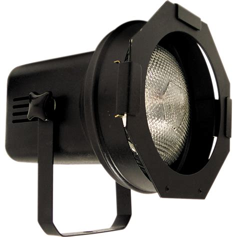 Led Flood Light American Dj Par38 Spot W Lamp Black 120 Vac Par 38bl B Amp H