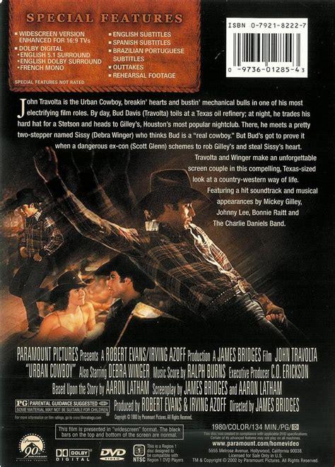 cowboy film quiz urban cowboy john travolta debra winger dvd