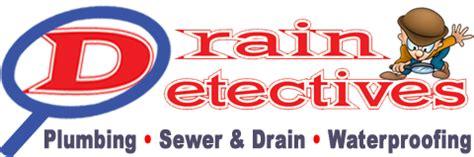 drain detectives licensed plumbing company in michigan