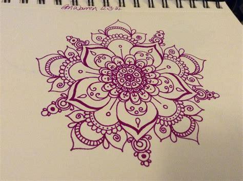 colored mandala tattoo design
