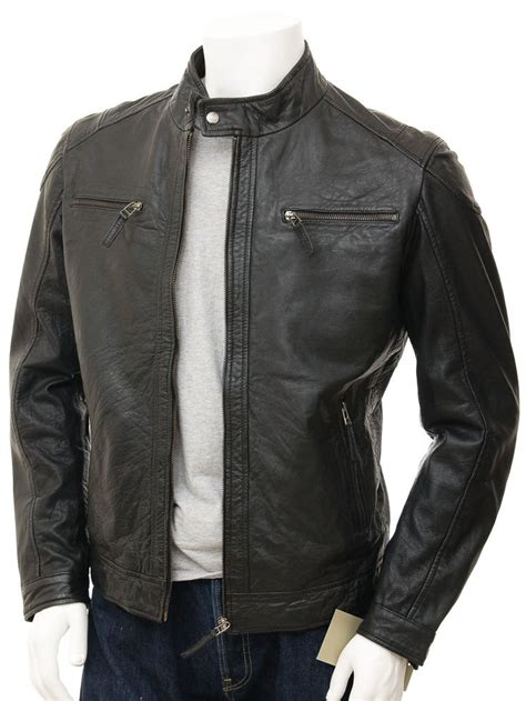 best mens biker biker leather jackets for men www imgkid com the image