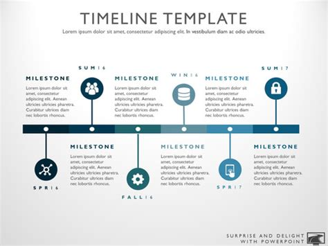 media timeline template timeline template for powerpoint great project management