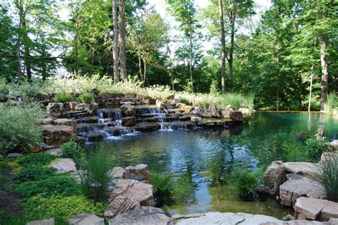 water feature series traditional landscape
