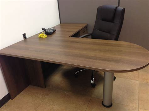 wood small l shaped desk small l shaped desk of space