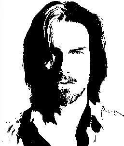 belajar desain merubah foto menjadi sketsa hitam putih
