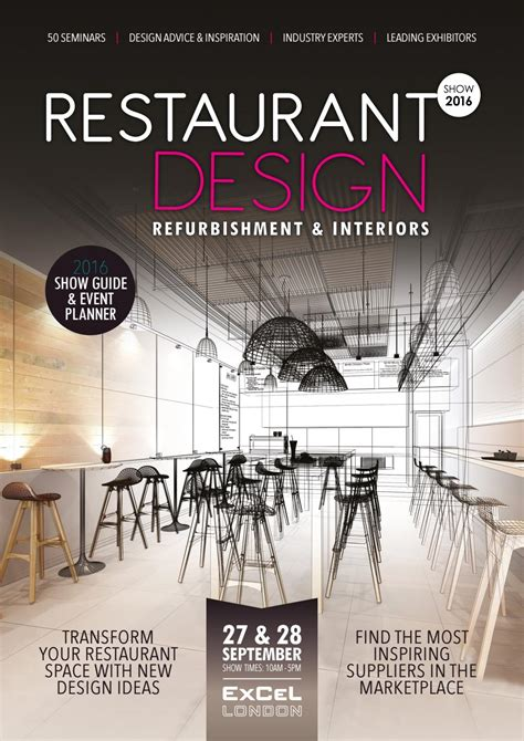 restaurant layout meaning restaurant design 2016 show guide by prysm group issuu