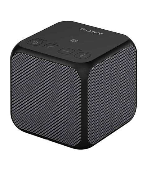 Sony Ultra Portable Bluetooth Speaker Srs X11 buy sony srs x11 ultra portable bluetooth speaker black at best price in india snapdeal