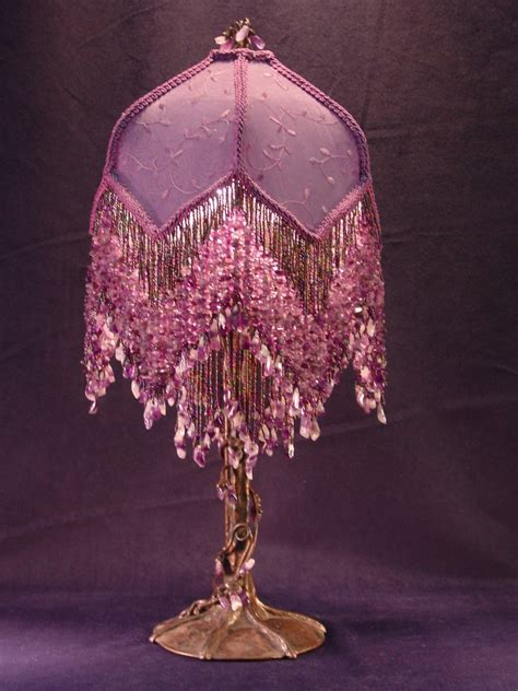 victorian l shade with fringe antique victorian beaded l victorian l shades home