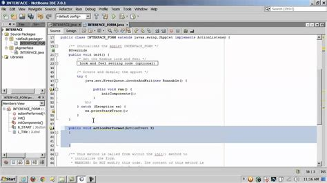 free layout netbeans java interfaces part 1 of 2 using netbeans and quot design