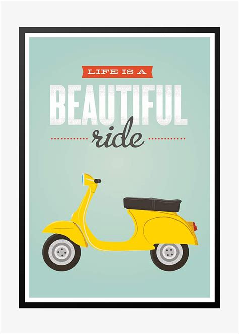 Plakat Retro by Is A Beautiful Ride Retro Plakat