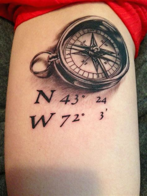 compass tattoo coordinates 1000 images about tattoo ideas on pinterest infinity