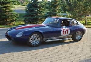 Replica Jaguar E Type Scca Vintage Racer 1961 Jaguar E Type Lightweight Coupe