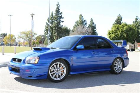 subaru tuning portland sell used 2004 subaru wrx sti in portland oregon united