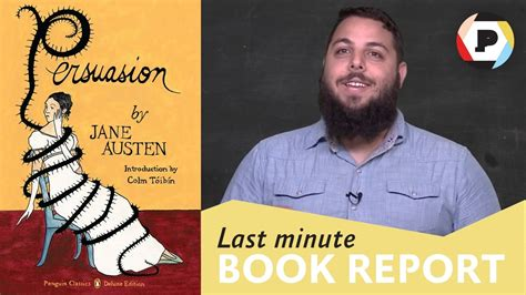 last minute book reports book editor mike braff presents austen s persuasion
