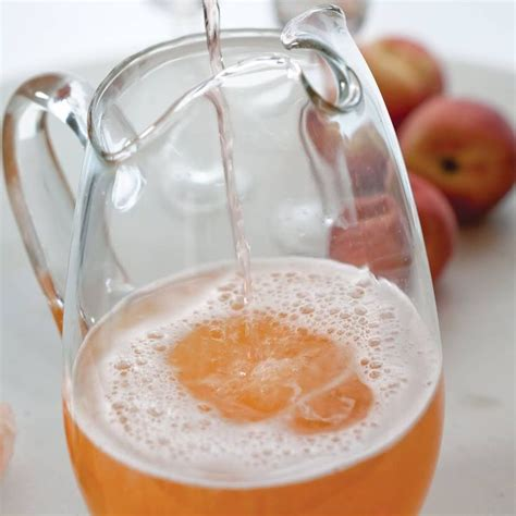 Peach Bellini Recipe Christmas Brunch Ideas Peach