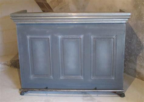meuble bar steunk en bois et zinc barr 233 vincent