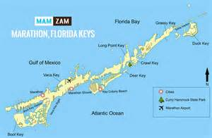 Florida Keys Map by Similiar Map Of Marathon Florida Keys Keywords