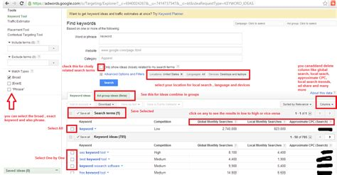 Adsense Keyword Research | keyword research adwords prestamosprecoh