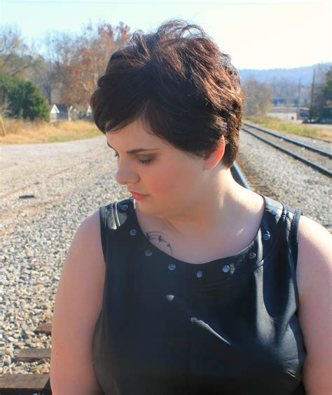 plus size models with short hair pixie cut on plus size women more photos on monday hair