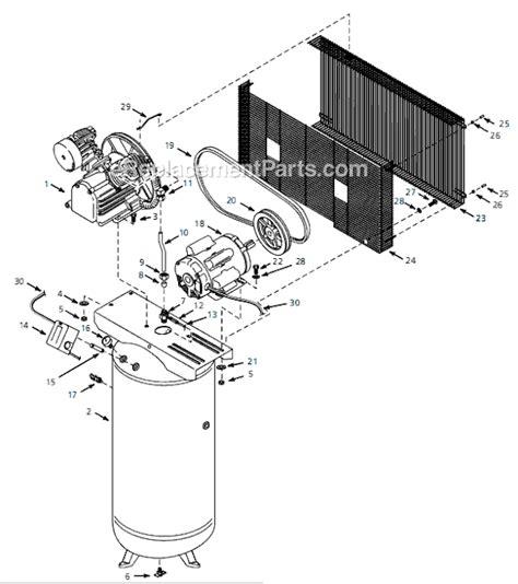 ingersoll rand air compressor parts diagram ingersoll rand air compressor wiring diagram get free