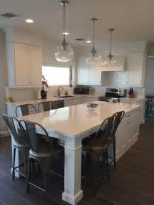 kitchen island table legs best 25 kitchen island table ideas on pinterest island