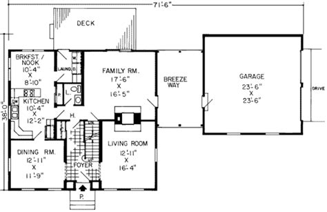 cape cod plan 2 151 square feet 4 bedrooms 3 bathrooms 7922 00147 colonial style house plan 4 beds 2 5 baths 2371 sq ft