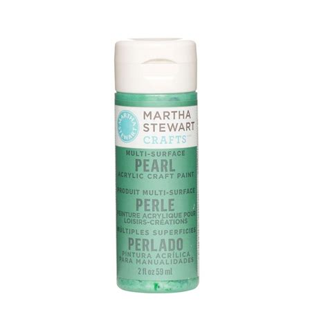 martha stewart crafts 2 oz hummingbird multi surface pearl acrylic craft paint 32125 the home